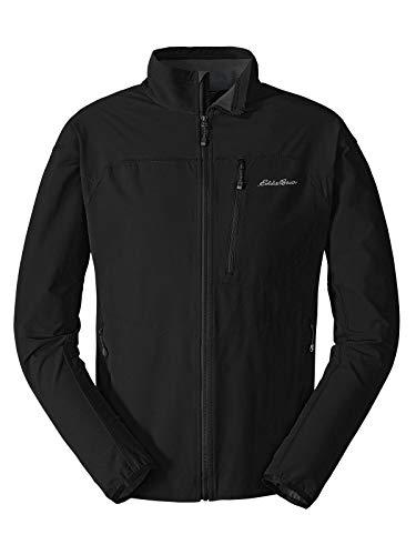 - Eddie Bauer Men's Sandstone Soft Shell Jacket, Black Regular XL