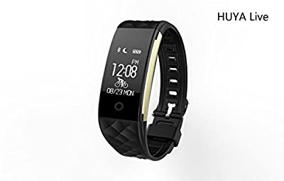 Fitness Tracker S2 with Waterproof for Heart Rate Monitor, Muti-functions for Running/Bicycle Record,GPS Movemene Tracking with Sleep Monitor for iPhone 7 7 PLUS Galaxy S7 and other Smartphones