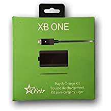 Bateria e carregador para controle xbox one 4800mAh