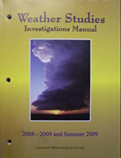 Weather studies introduction to atmospheric science joseph m weather studies investigations manual 2008 2009 and summer 2009 fandeluxe Image collections