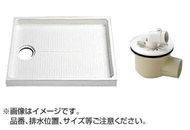 TOTO セット品番【PWSP80H2W】 洗濯機パン(PWP800N2W)サイズ800+横引トラップ(PJ2008NW)   B071DHP823