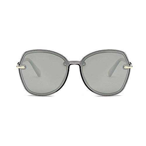 para y sol Protección conducción unisex las Gafas de de la de de sol las personalidad la polarizadas hombres retro de de de Retro gafas Plata los Gafas mujeres marco de del sol sol ULTRAVIOLETA gafas las de 8acEqREn