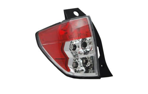 TYC 11-6338-01 Replacement Driver Side Tail Lamp for Subaru Forester (Subaru Lamp Tail Forester)