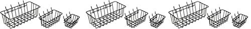 Dorman Hardware 4-9845 Peggable Wire Basket Set (3 X Pack of 3) by Dorman Hardware (Image #2)