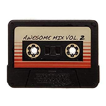 - Bioworld Guardians of The Galaxy Cassette Tape Pin