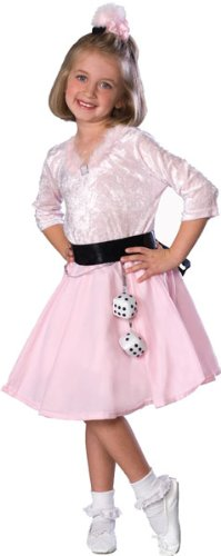 Girls 50s Poodle Skirt Costume ()