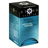 Stash Tea Company Herbal Tea Bags Licorice Spice Review
