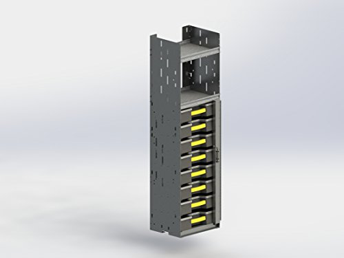 Ranger Design Partskeeper Organizer Storage Cabinet + 8 Carry Cases, 5086