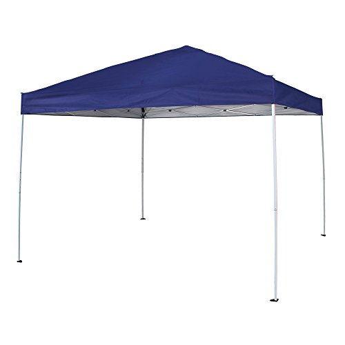 FurniTure Outdoor Canopy 10' x 10' Patio Canopy Garden Canopy Pop Up Canopy Instant Canopy Tent Easy Set Up with Carry Bag, Blue by FurniTure