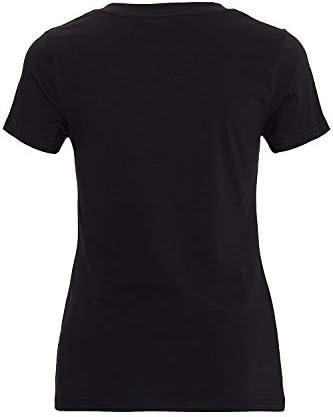 Queen Kerosin damski t-shirt z wycięciem w kształcie litery V nadruk styl retro My Route My Rules Slim Fit My Route My Rules: Odzież