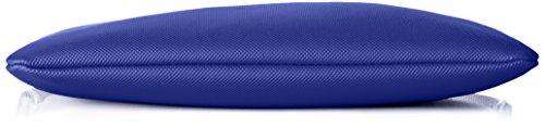 Lacoste NF1887PO, Bolso Bandolera para Mujer, 17.5 x 1 x 27 cm Azul (Surf The Web)
