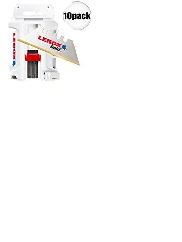 Lenox 50D 500Pk Titanium Edge Gold Blade by Lenox