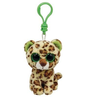 Amazon.com  TY Beanie Boo Key Clip Leopard Speckles by Ty  Toys   Games 0e48e912f93