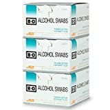 BD Individually Foil Wrapped Alcohol Swabs – 300 ea, Health Care Stuffs