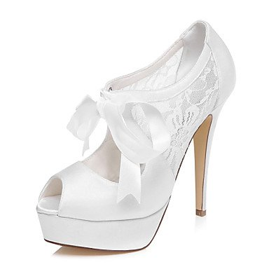 Shoes Ivory Dress Heels White Heels Women'S Platform Wedding White Wedding x0SqgSw5B