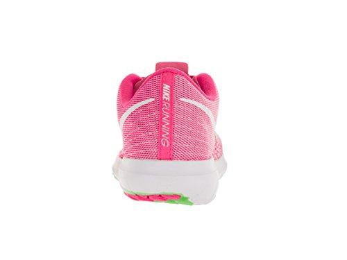 Flex pink White Fury Green 2 De Para Rosa Zapatillas Blast Mujer elctrc Wmns Running Nike Cna7v57
