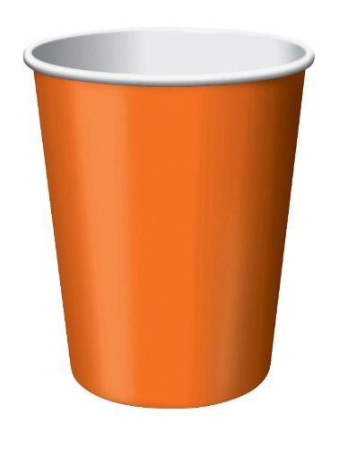 Hot/Cold Cup 8 Ct Orange Case Pack 12