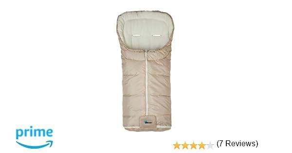 AltaBeBe Basic - Saco de abrigo para silla de paseo, color beige