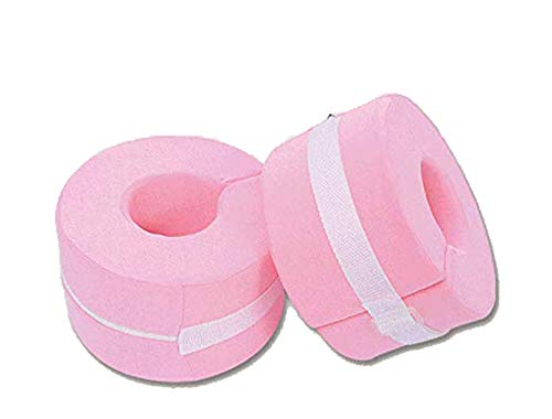 BIHIKI 1 Pair Foot Support Pillows for Pressure Sores,Ankle Pillow,Foot Elevator Support Pillow,Heel Protector Pillows (Pink)