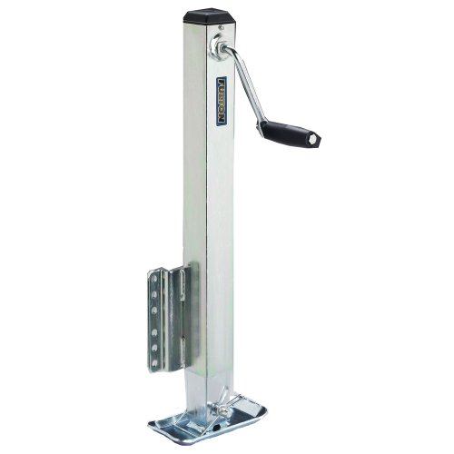 Fulton HD25000101 Bolt-On Trailer Tongue Jack with Drop Leg - 2500 lb. Weight Capacity
