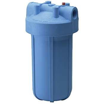 Culligan HD-950A Inlet/Outlet Filtration System, Blue Housing