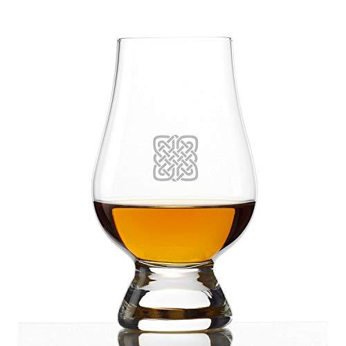 Glencairn Crystal Whiskey Glass, Set of 4 Celtic Knot by Stolzle