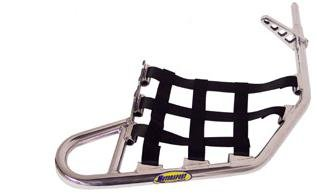 Motoworks Replacement EZ-FIT Nerf Bar Nets - Black 81-0302