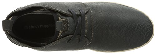 Hush Puppies Mens Layton Genius Boot In Pelle Nera