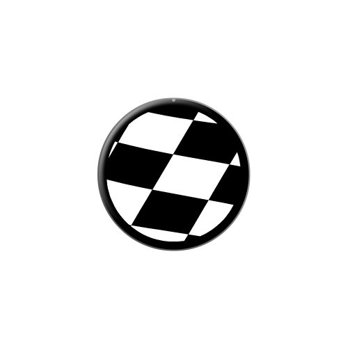 Graphics and More Checkered Flag - Racing - Metal Lapel Hat Pin Tie Tack Pinback