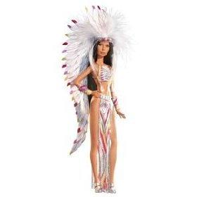 Barbie 70s Cher Bob Mackie Collector Black ()