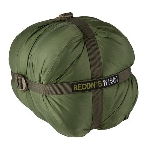Elite Survival Systems ELSRECON5-OD Recon 5 Rated to -4 Degree Fahrenheit Sleeping Bag, Olive Drab