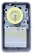 Intermatic T102R Timer, 40A 208-277V SPST Heavy-Duty Electromechanical w/Type 3R Steel Enclosure