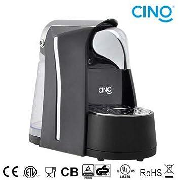 Máquina de café expreso en cápsulas Compatibles Nespresso Negro: Amazon.es: Hogar