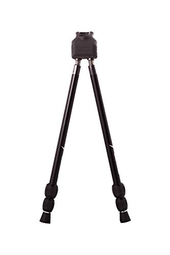 Swagger Bipods Stalker QD42 Compact and Lightweight Shooting and Hunting Bipod for Rifle, Crossbow and Shotgun Bipod with 14 to 42 Inch Range SWAG-ST-QD42, Black