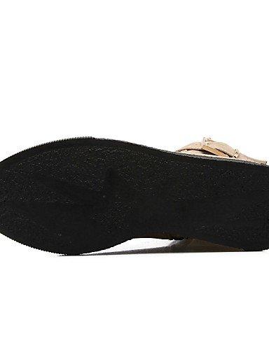 5 Vestido Uk8 Moda Negro Uk3 Vellón Casual Cn43 us10 Xzz Punta Zapatos 5 Beige Redonda Black Mujer Botas La us5 Bajo Beige Eu35 Eu42 Tacón Cn34 De Rojo A wPwFqvp