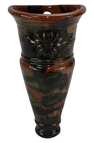 (Peters and Reed Pottery Marbleized Wall)
