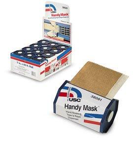 Handy Mask Hand Masking Tape & Paper 12 Pk Display