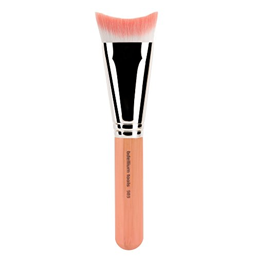Bdellium Tools Professional Eco-Friendly Makeup Brush Pink Bambu Series - Inverted Face Blending 989