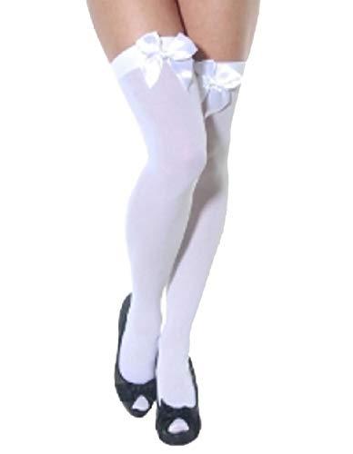 de tama moda o mujer blanca blancos arco Talla 21 de con Calcetines un EqpET
