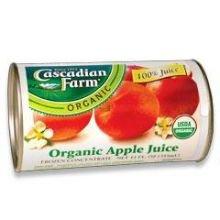 Cascadian Farm Organic Frozen Apple Fruit Juice Concentrate, - Frozen Juice