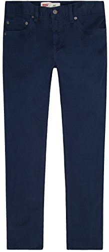 Levi's Boys 511 Slim Fit Soft Brushed Pants, Dress Blues ()
