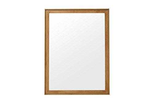 Urbangreen MCM11MWas Midcentury Modern Mirror in Maple, Washed ()