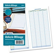 amazon com vehicle mileage log book 64 pages 3 1 4 x6 1 4