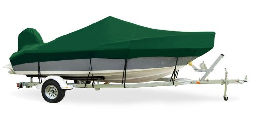 Taylor Made Products Trailerite Offshore Fishing Boat Cover O/B (Forest Green, 18 Feet 5 Inch-19 Feet 4 Inch 96 (Center Console Offshore Boat Cover)