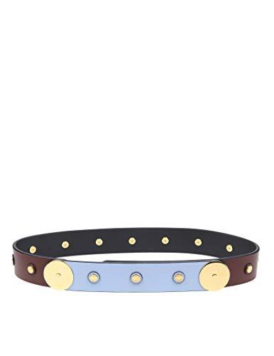 Marni Women's Cnmo0026q1p2319z2b42 Brown Leather Belt