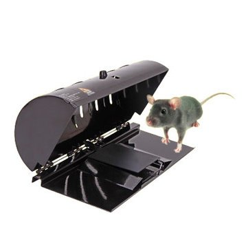 Gnawer Ensnare - Creative Rat Rodent Trap Household Catch Mouse Similar Ultra Sensitive Cage Efficiently Safely - Sand Gnawing Animal Lying Wait - 1PCs by Unknown