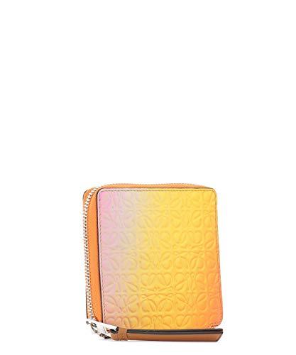 Loewe Mujer 10712Sm889074 Naranja Cuero Billetera: Amazon.es: Ropa y accesorios