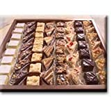Sweet Street Square Petits Fours Cake - Variety Pack Bar -- 4 per case.