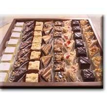 Sweet Street Petit Four Cake - Variety 2-192 per case. -