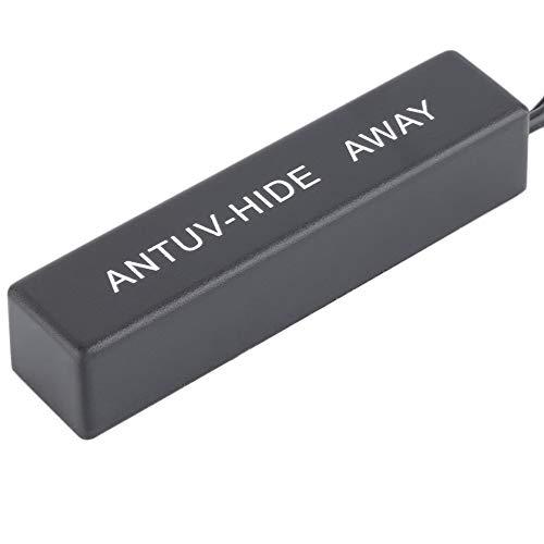 Alta Ganancia Am//FM Reemplazo Universal Auto Auto Amplificado Oculto Antena Radio TV Amplificador de recepci/ón de se/ñal Amplificador Amp Booster